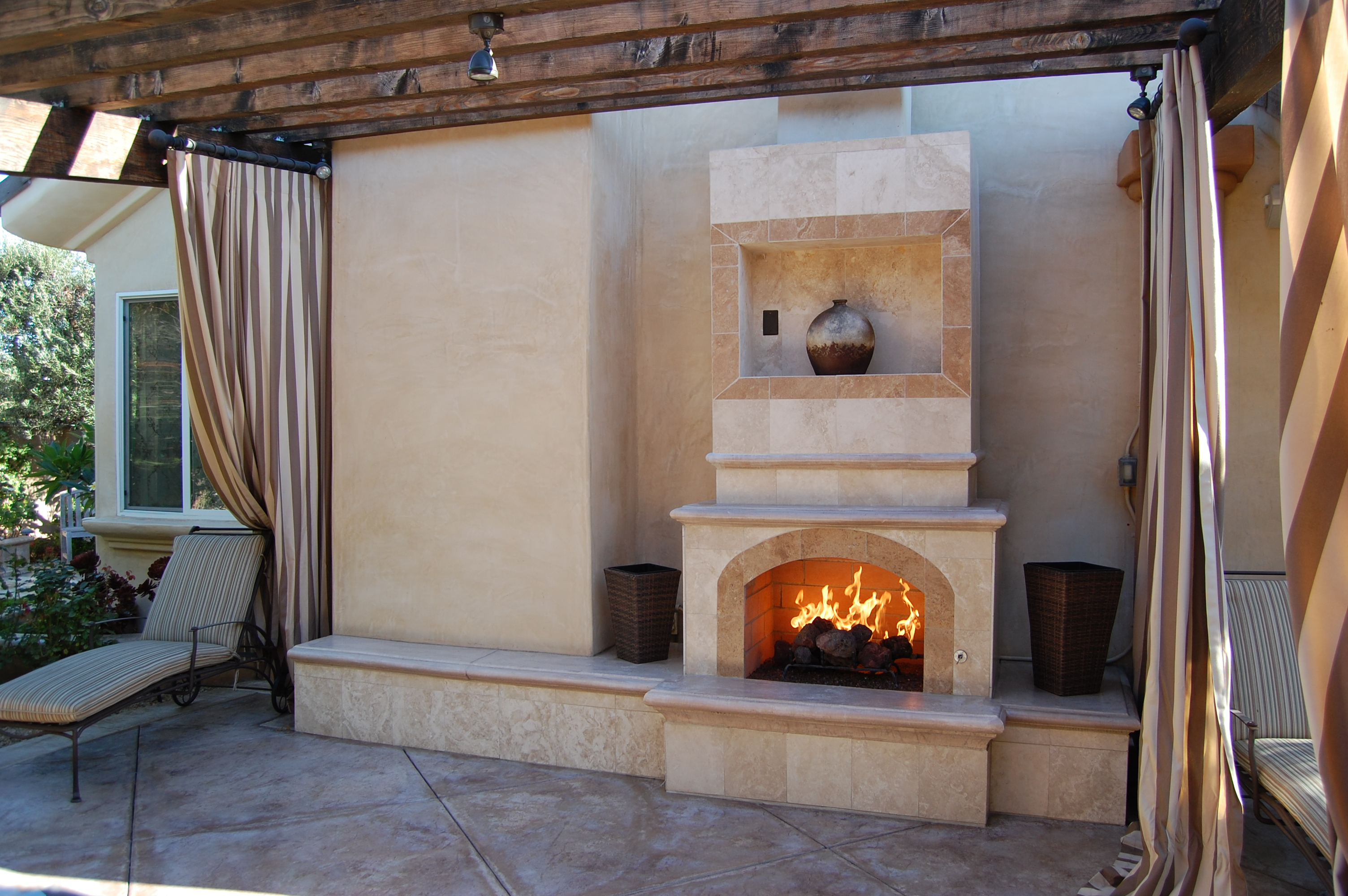 Modern Custom Fireplace Design In Orange County California